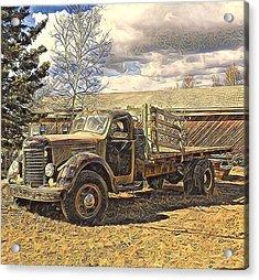 Abandoned Vehicle Canol Project 1945 Acrylic Print