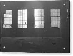 Abandoned Warehouse Acrylic Print by Carol Turner