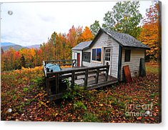 Abandoned With A View  Acrylic Print by Catherine Reusch Daley