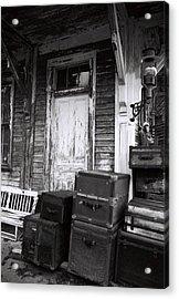 Acrylic Print featuring the photograph Abandoned2 by AnnaJanessa PhotoArt