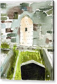 Abbey Door Acrylic Print