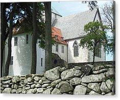 Abbey Exterior #2 Acrylic Print