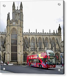 Abbey In Bath, Uk Acrylic Print