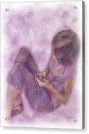 Abbiegayle Acrylic Print by Jeffrey Bland