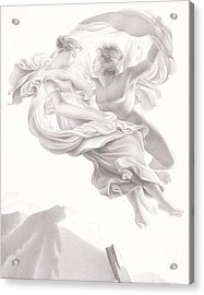 Abduction Of Psyche Acrylic Print by Therese Macdonale