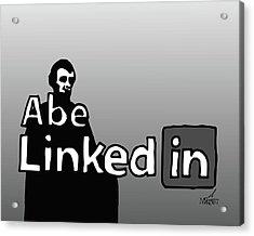 Abe Linkedin Acrylic Print