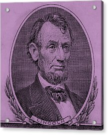 Acrylic Print featuring the photograph Abe On The 5 Pink by Rob Hans