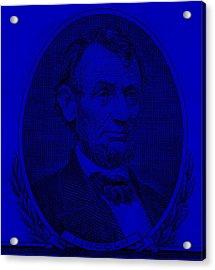 Acrylic Print featuring the photograph Abe On The 5 Violet by Rob Hans