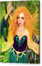 Abell - Beautiful  Acrylic Print by Shelley Bain