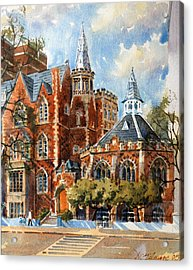 Abercorn-the Old Grammar School Acrylic Print