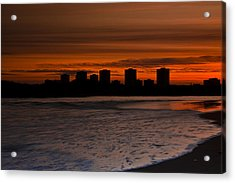 Aberdeen By Sunset Acrylic Print