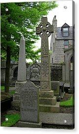 Aberdeen Grave Markers Acrylic Print by Deborah Smolinske