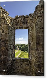 Acrylic Print featuring the photograph Aberdour Castle by Jeremy Lavender Photography