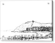 Aberystwyth Acrylic Print by Frank Hamilton