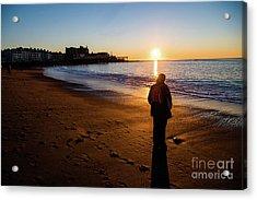 Aberystwyth Sunset Acrylic Print