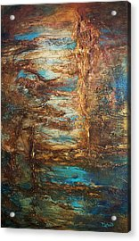 Lagoon Acrylic Print by Patricia Lintner