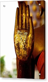 Abhaya Mudra IIi In Colour Acrylic Print