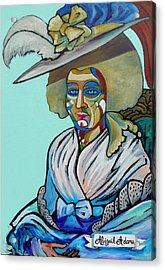 Abigail Adams Acrylic Print by Gray