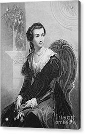 Abigail Smith Adams Acrylic Print by American School