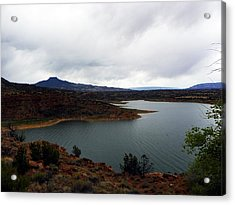 Abique Lake Nm Acrylic Print
