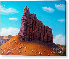 Abiquiu Acrylic Print by Brian  Commerford