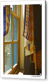 Acrylic Print featuring the photograph Abiquiu Window by R Thomas Berner