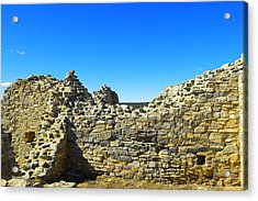 Acrylic Print featuring the photograph Abo Mission Ruins New Mexico by Jeff Swan