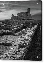 Abo Ruins Acrylic Print by Joseph Smith