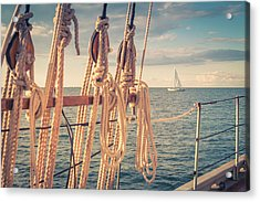 Aboard The Edith M Becker Acrylic Print
