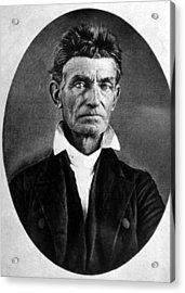 Abolitionist John Brown Acrylic Print by Everett