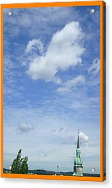 About Reaching The Sky Acrylic Print by Allen Rybo