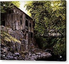 Above Cedar Creek Acrylic Print by Craig Shillam