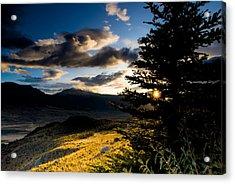 Above Gardiner Montana Acrylic Print by Patrick  Flynn