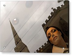 Above It All Acrylic Print by Jez C Self