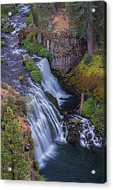 Above Middle Falls Acrylic Print