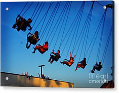 Above Of All Acrylic Print