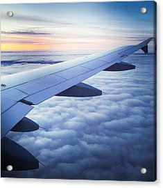 Above The Clouds 01 Acrylic Print