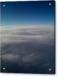 Above The Clouds Acrylic Print by Veronica Trotter