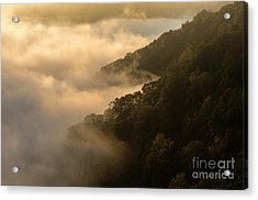 Acrylic Print featuring the photograph Above The Mist - D009960 by Daniel Dempster