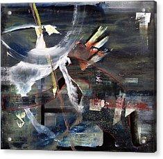 Abracadabra Acrylic Print by Antonio Ortiz