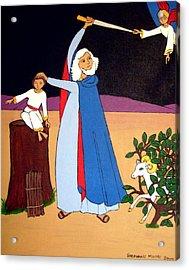 Abraham And Isaac Acrylic Print