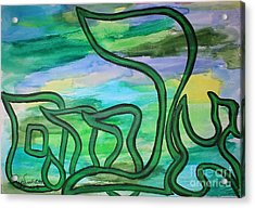 Abraham Acrylic Print