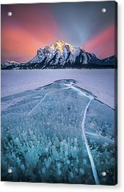 Abraham Lake Splendor // Alberta  Acrylic Print