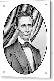Abraham Lincoln Circa 1860 Acrylic Print by War Is Hell Store