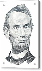 Abraham Lincoln Acrylic Print by David Houston