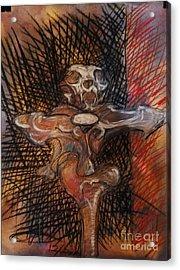 Absalom Acrylic Print by Marian Evans