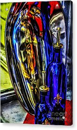Abstact In Reflection 2 Acrylic Print