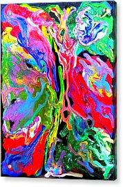 Abstract - Rebirth Series - Eva's Dream Acrylic Print by Dina Sierra