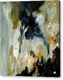 Abstract 070808 Acrylic Print by Pol Ledent
