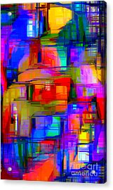 Abstract 1293 Acrylic Print